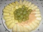 Tabla de Quesos y Uvas